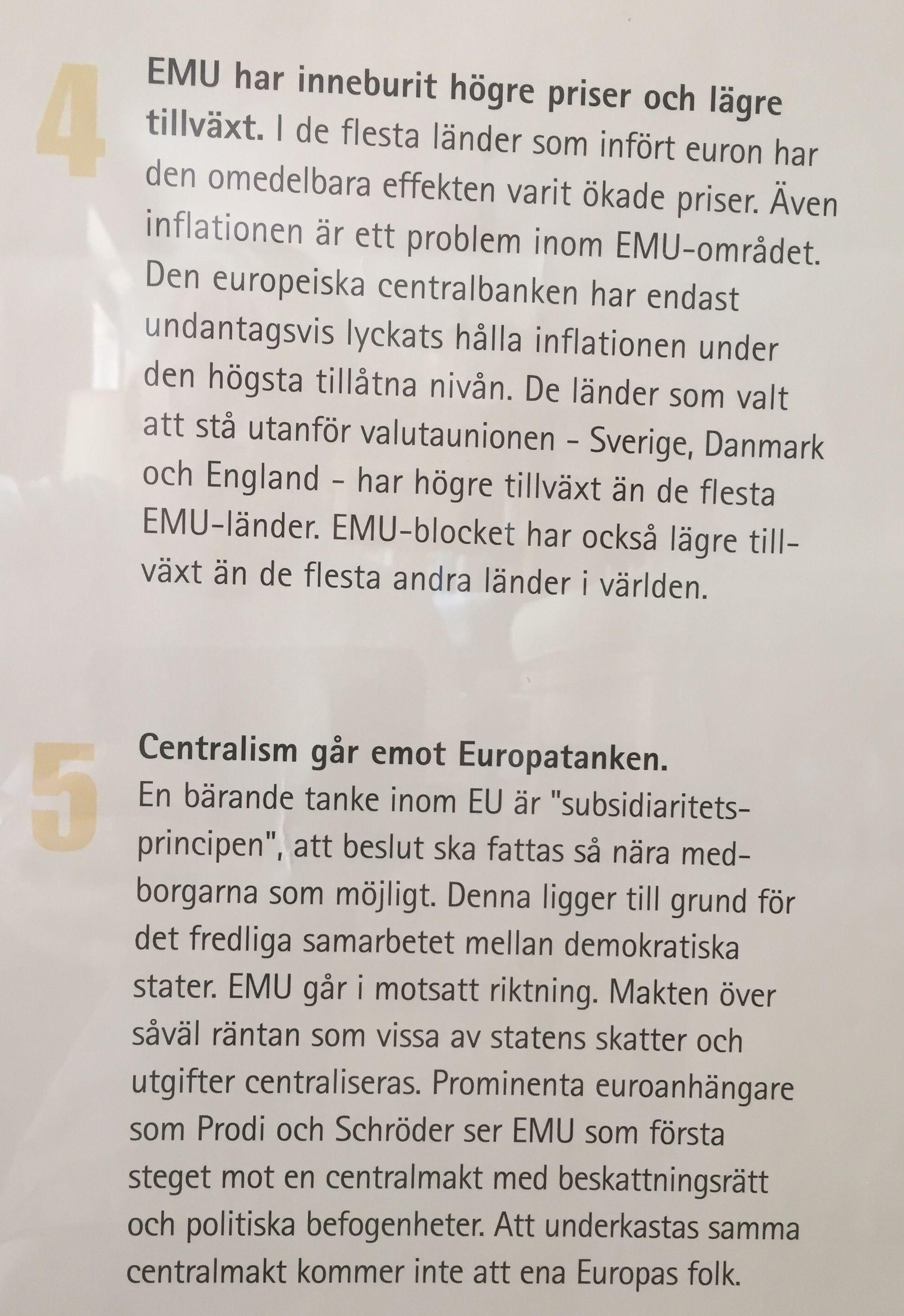 Svenskar fortsatt emu skeptiska